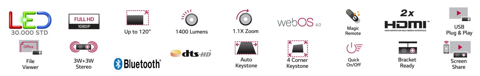 LG Largo 2.0 Specs