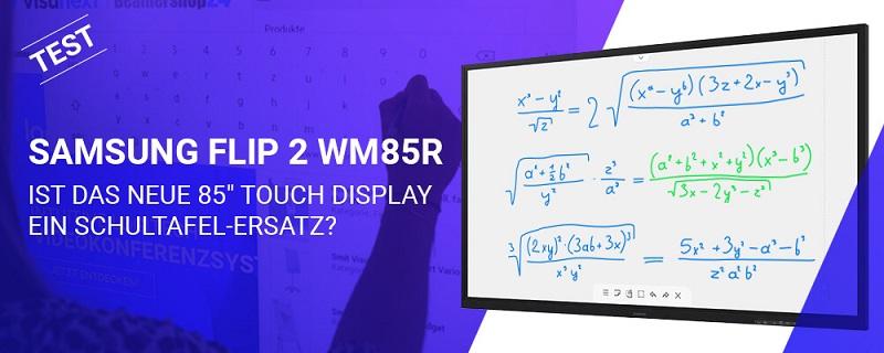Samsung Flip 2 WM85R Test