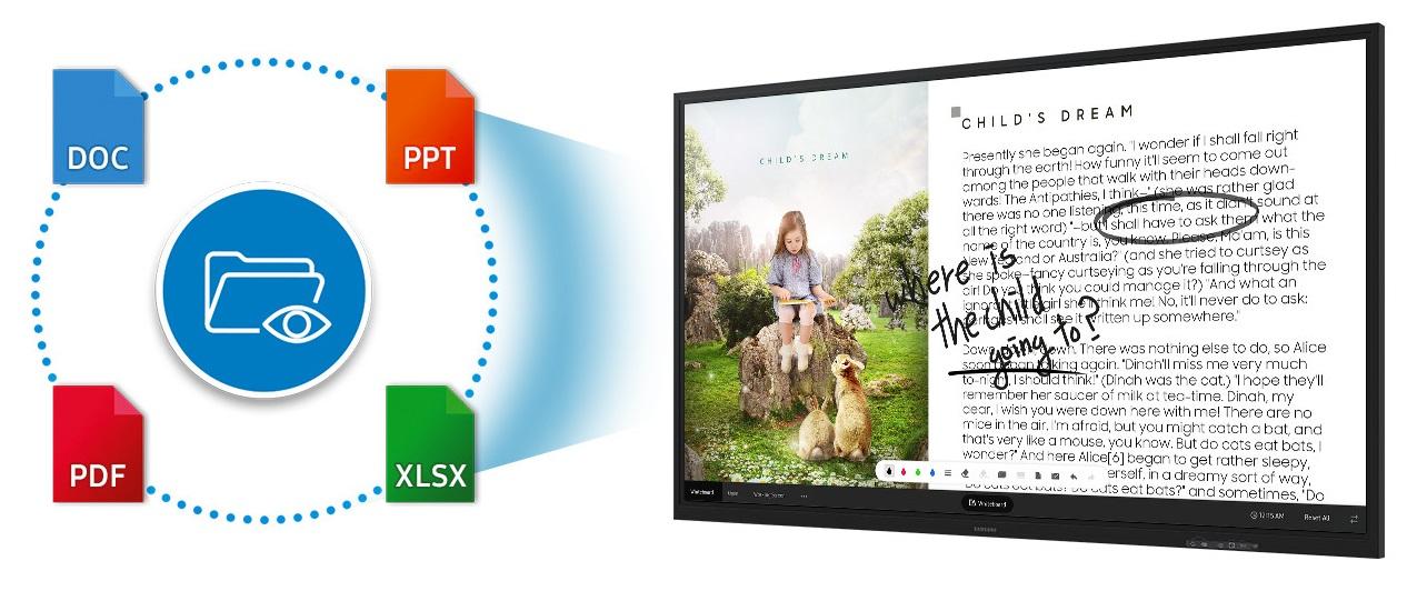 Samsung Flip WM85R
