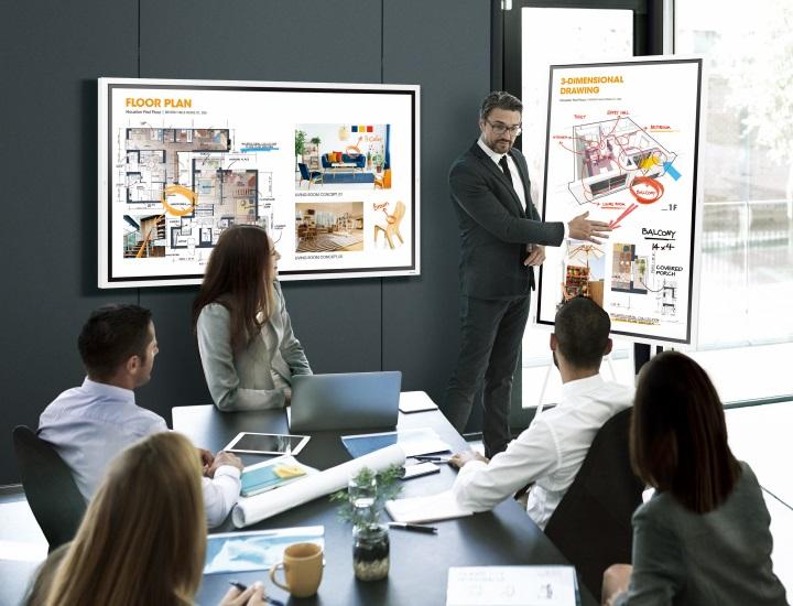Samsung Flip WM55R Meetingroom