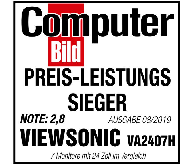 ViewSonic VA2407H Testsieger