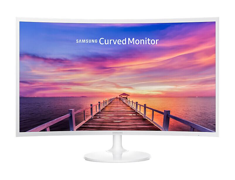 """Samsung C32F391FWU 32"""" LCD Monitor mit Full-HD und 4ms Reaktionszeit"""