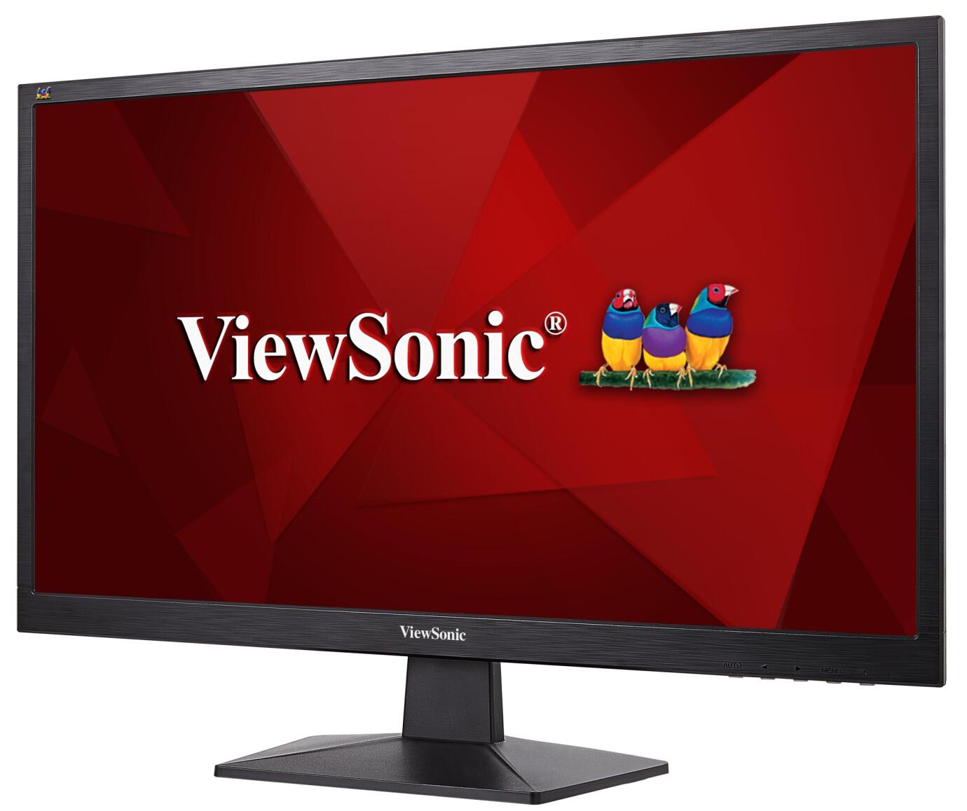 """ViewSonic VA2407H 24"""" LCD Monitor mit Full-HD und 3ms Reaktionszeit"""