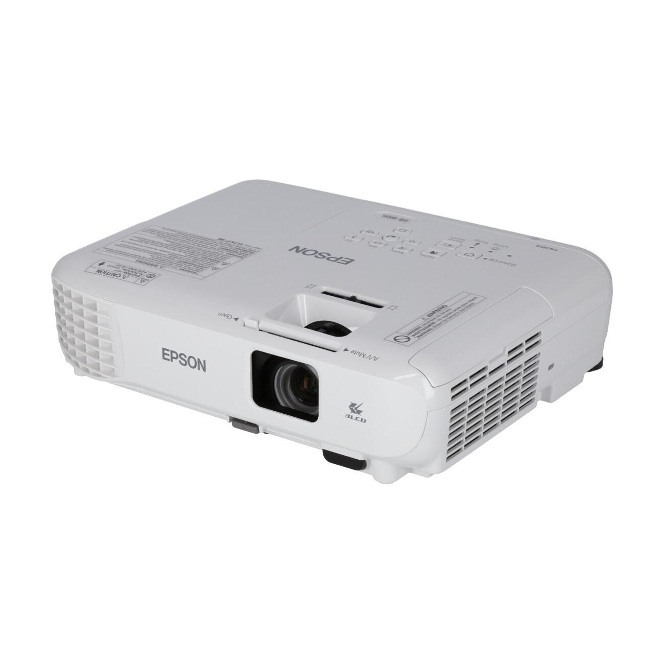 Epson EB-W05 Heimkino Beamer mit 3300 ANSI-Lumen und WXGA Auflösung