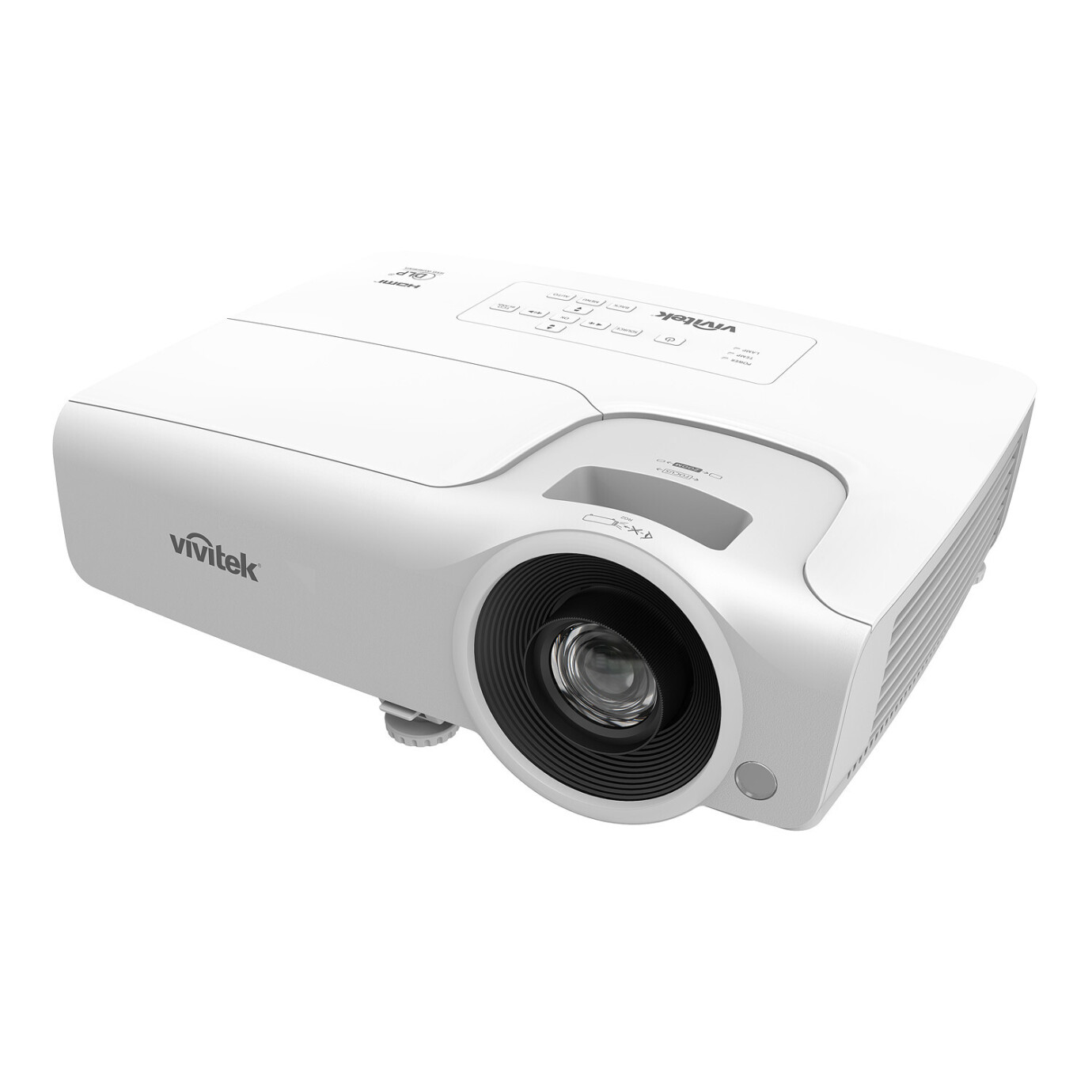 Vivitek DS262 Beamer mit 3500 ANSI-Lumen und SVGA Auflösung