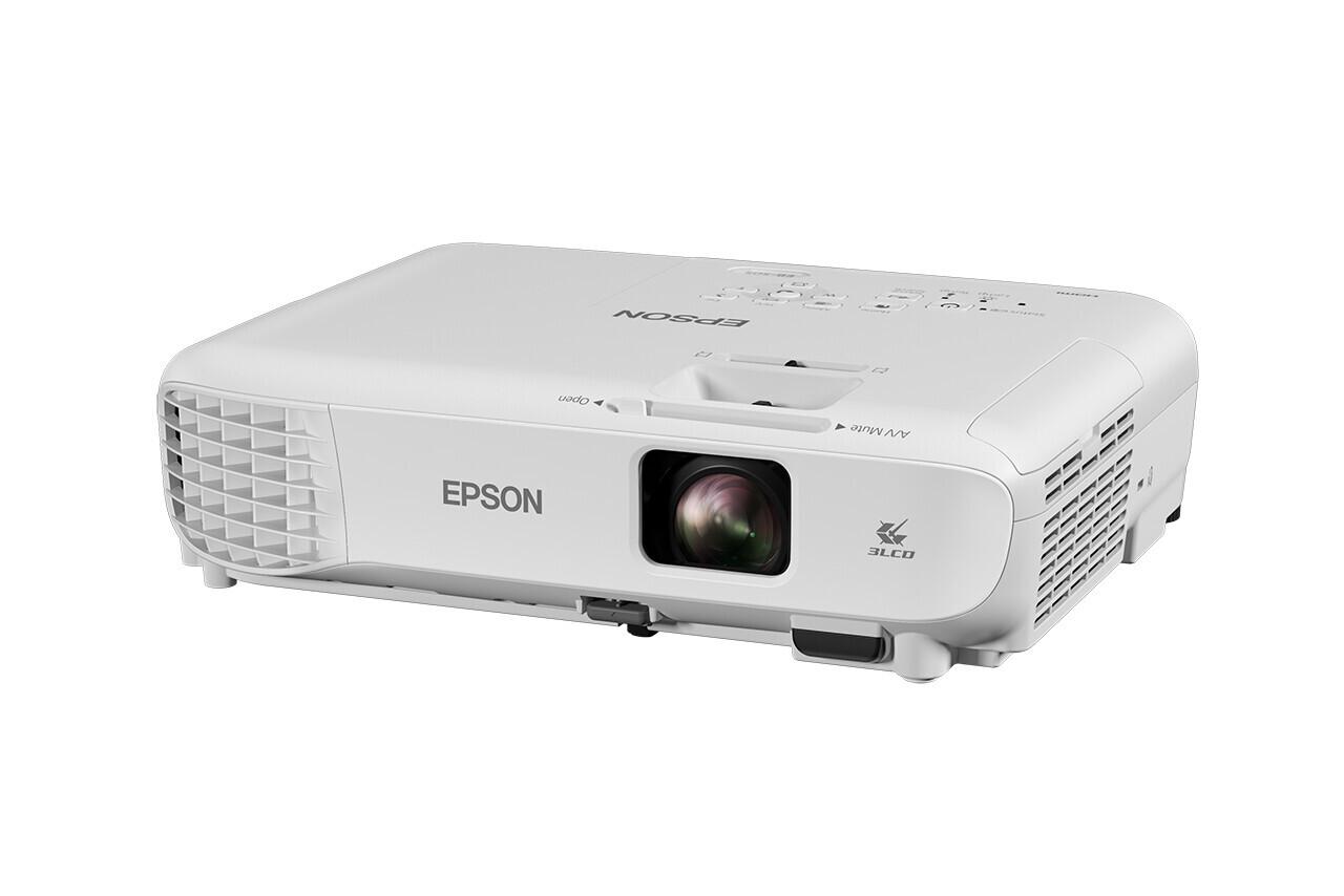 Epson EB-S05 Beamer mit 3200 ANSI-Lumen und SVGA Auflösung