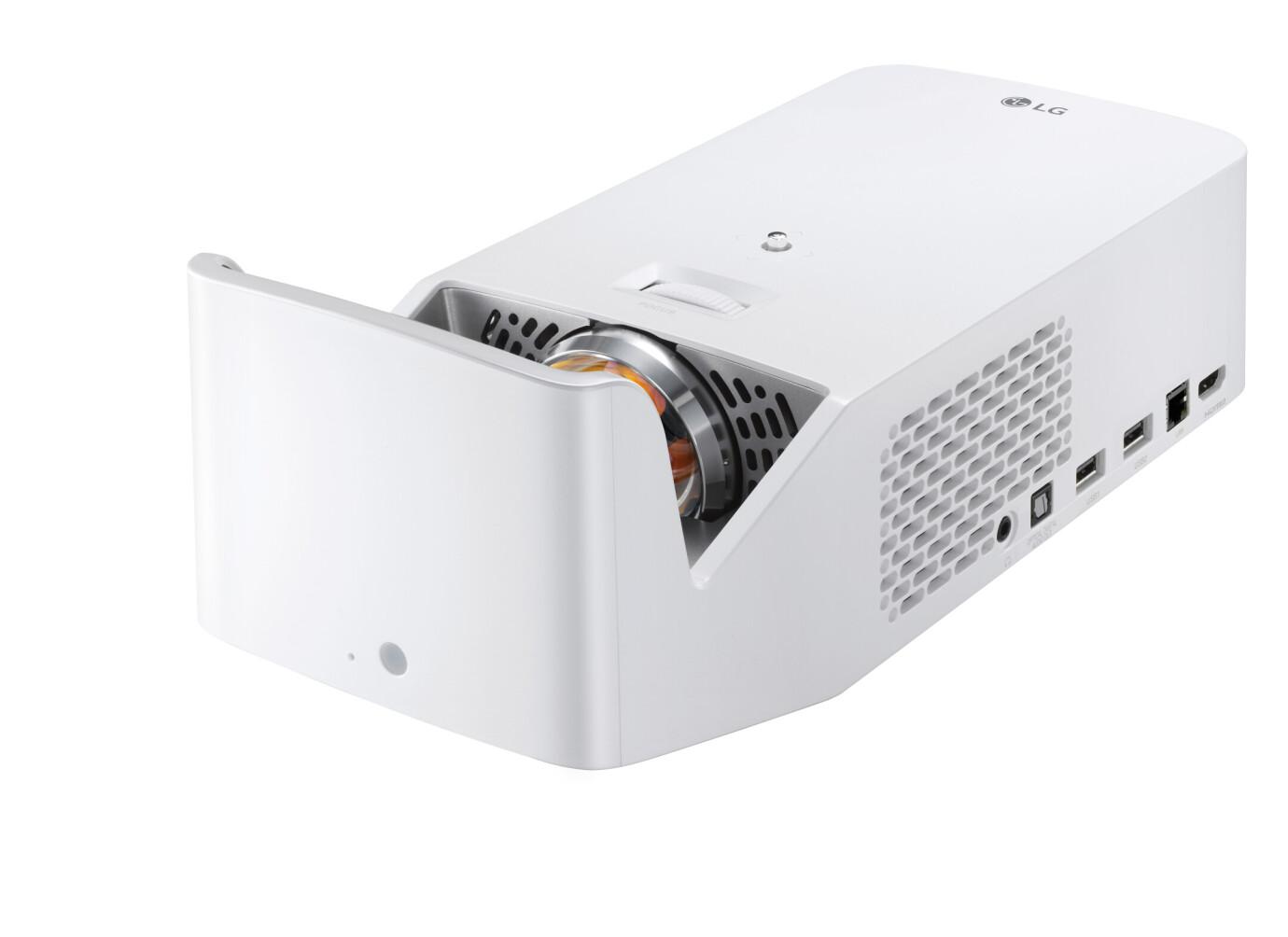 LG HF65FG Kurzdistanzbeamer mit 1000 ANSI-Lumen und Full-HD Auflösung