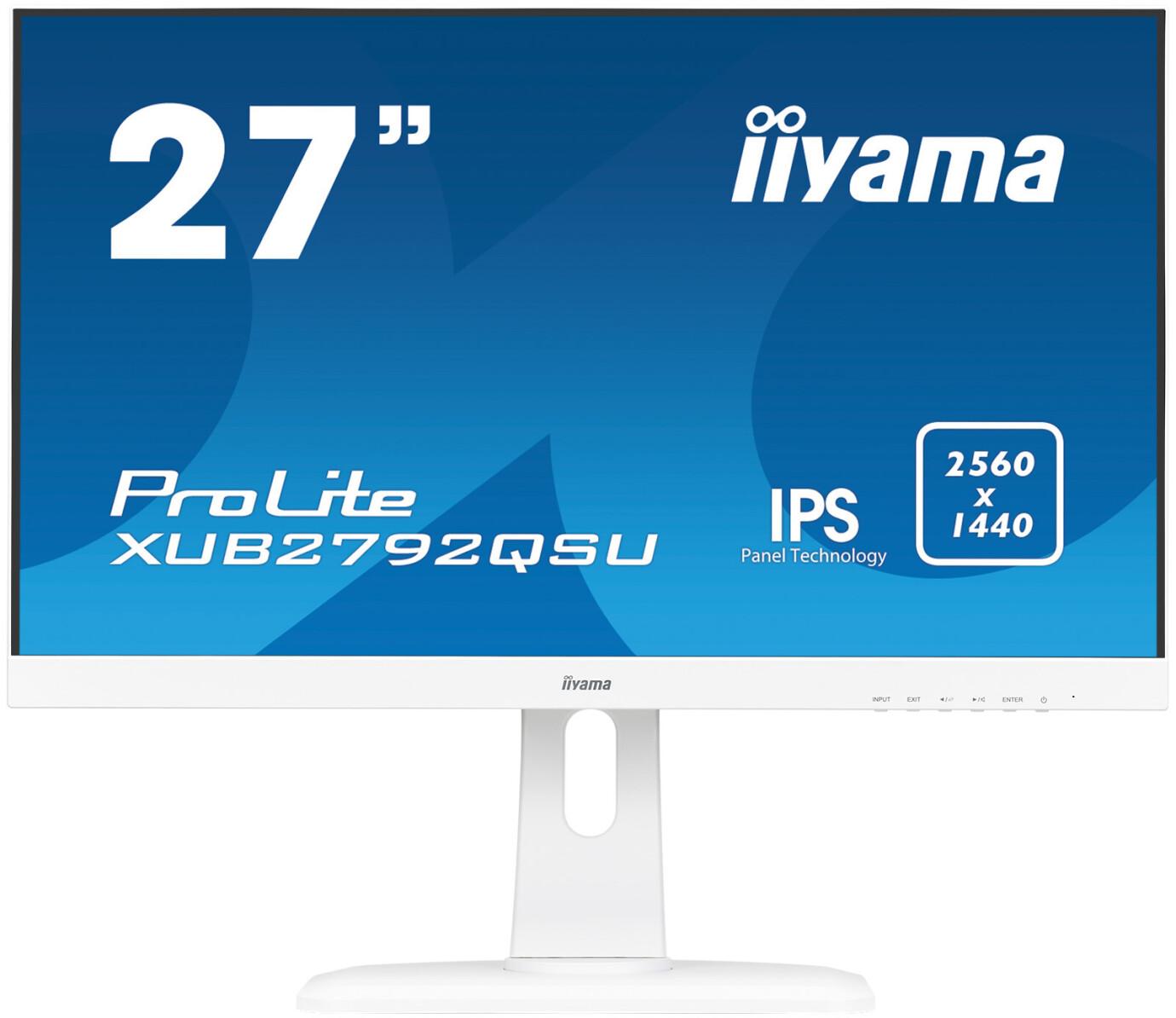 """iiyama XUB2792QSU-W1 27"""" lcos Monitor mit WQHD und 5ms Reaktionszeit"""