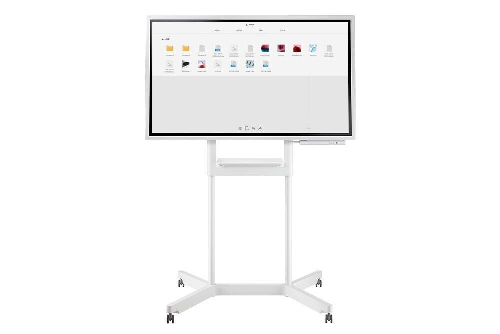 """Samsung WM55H Flip inkl. Rollwagen STN-WM55H 55"""" Touchscreen"""
