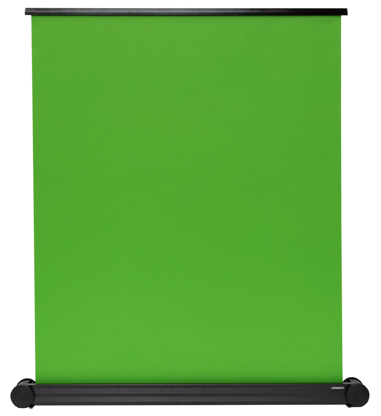 Écran à fond vert celexon mobile Chroma Key Green 150 x 180 cm