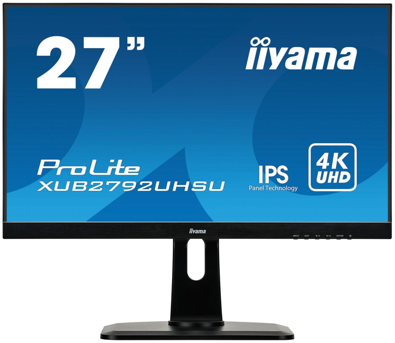 "iiyama ProLite XUB2792UHSU-B1 27"" LCD Monitor mit 4K und 4ms"