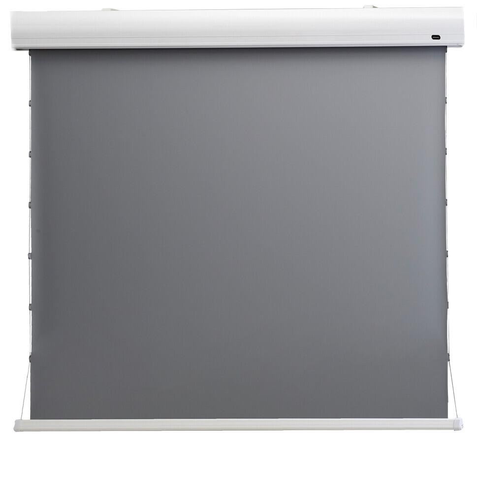 """Ecran de projection celexon Home Cinéma motorisé tensionné 298 x 168 cm 135"""" - Dynamic Slate ALR"""