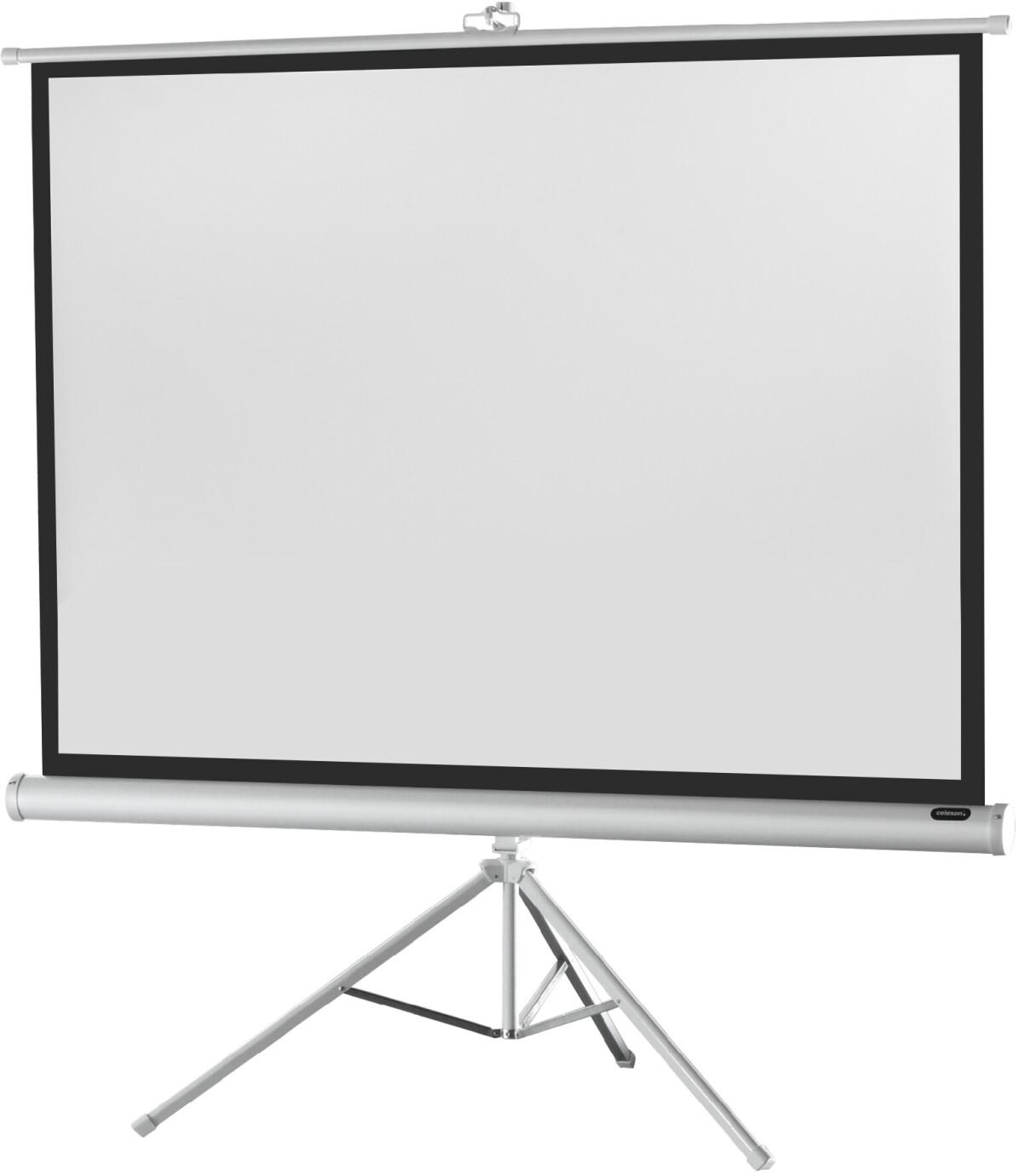 celexon Stativleinwand Economy 176 x 132 cm - White Edition