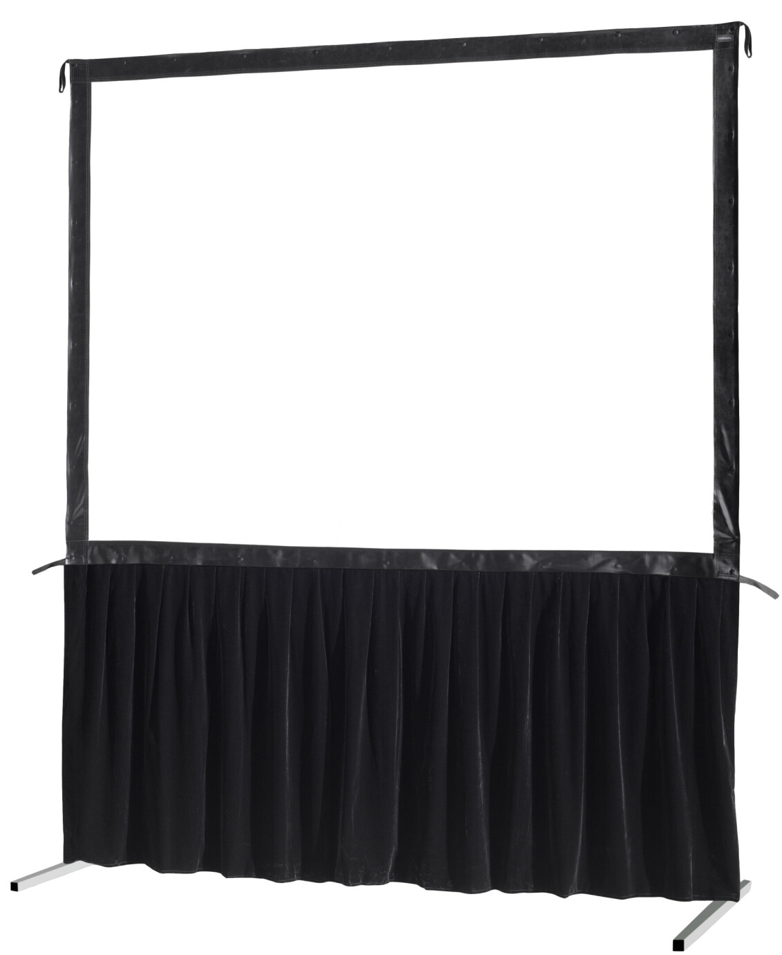 celexon Vorhangset 1-seitig für Faltrahmenleinwand Mobil Expert 366 x 274 cm
