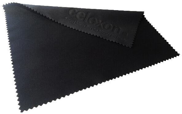 celexon Reinigungstuch für optische Linsen und Gläser