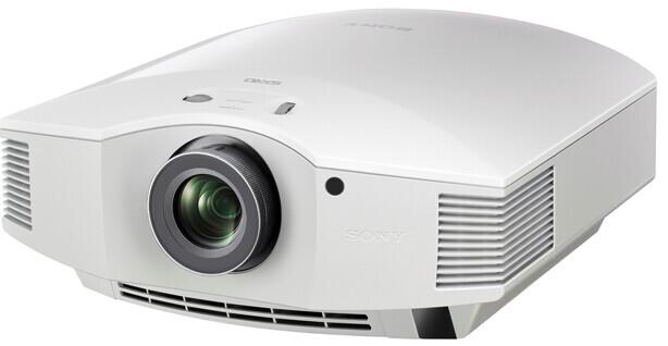 Sony VPL-HW40ES weiß Heimkino Beamer mit 1700 ANSI-Lumen und Full-HD