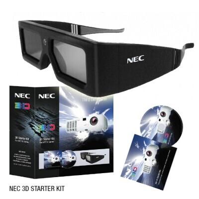 NEC NP01SK3D 3D Starterkit inkl. 3D Brille
