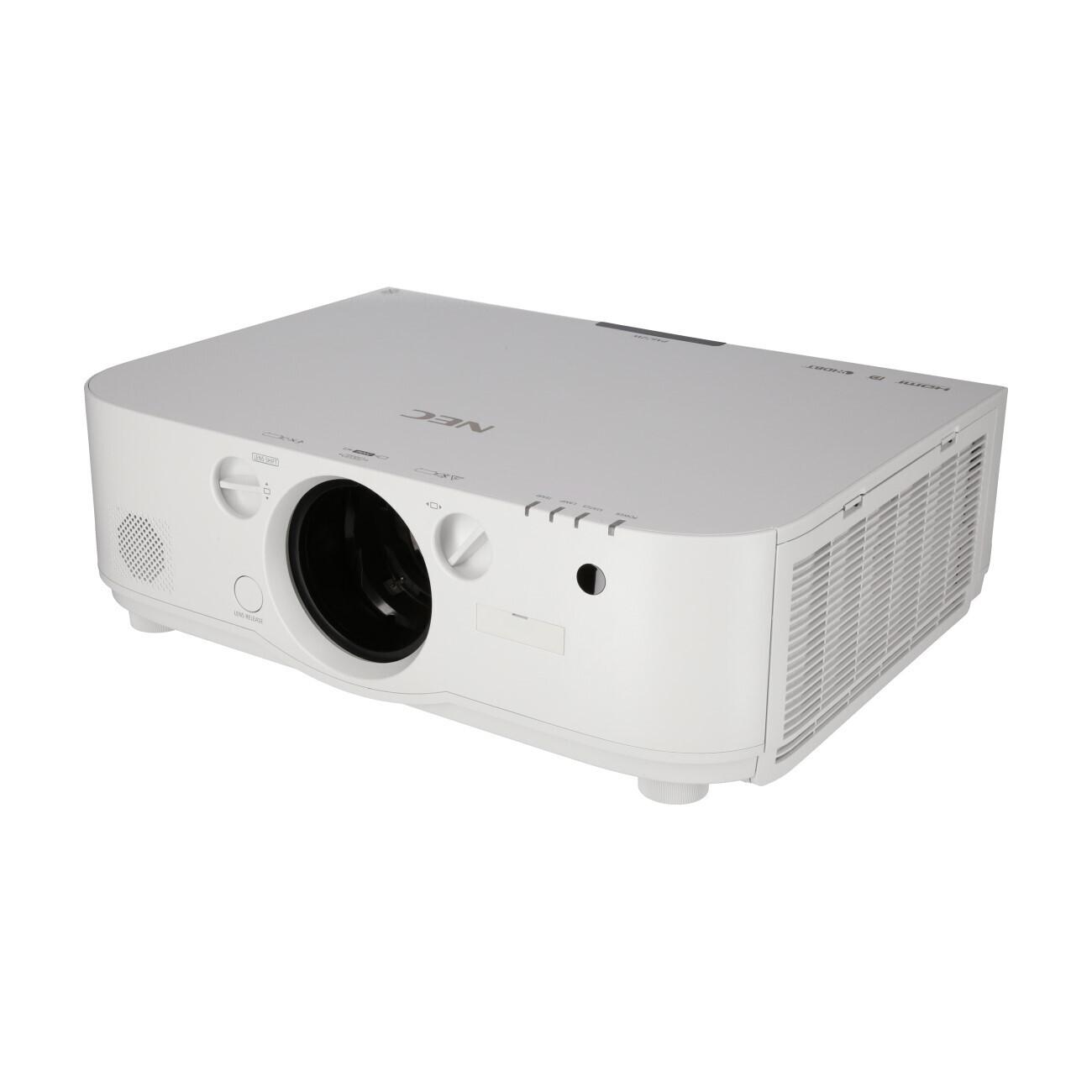 NEC PA672W (ohne Objektiv) Beamer, 6700 ANSI-Lumen, WXGA