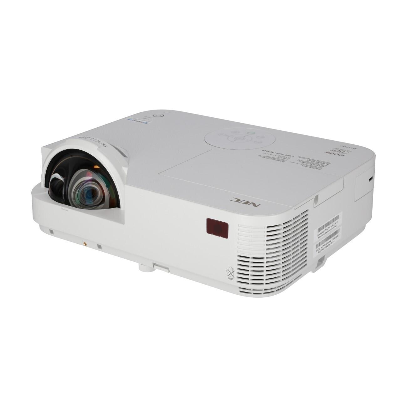 NEC M353WS Kurzdistanzbeamer mit 3500 ANSI-Lumen und WXGA Auflösung