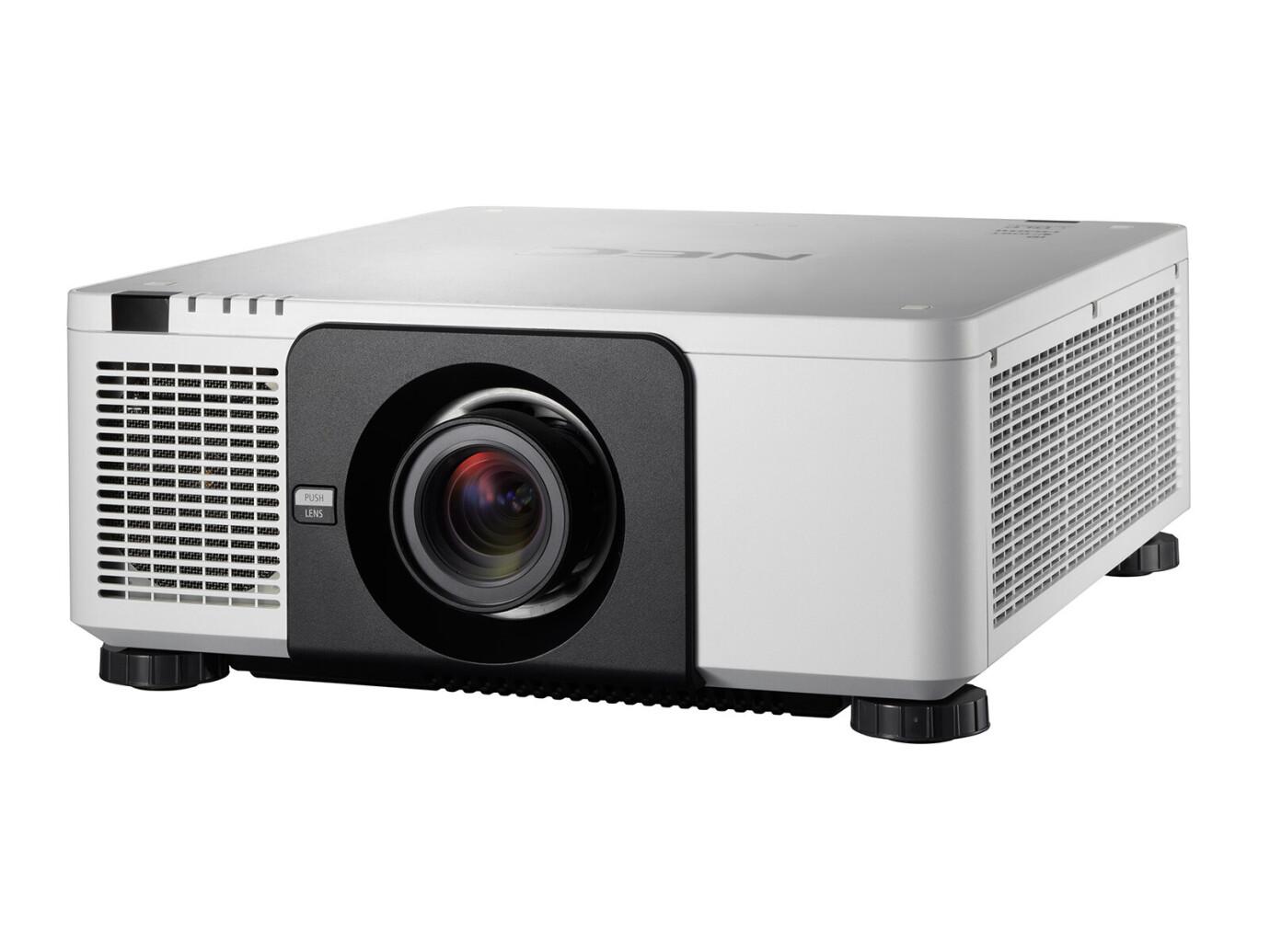 NEC PX803UL-WH (ohne Objektiv) Beamer, 8000 ANSI-Lumen, WUXGA