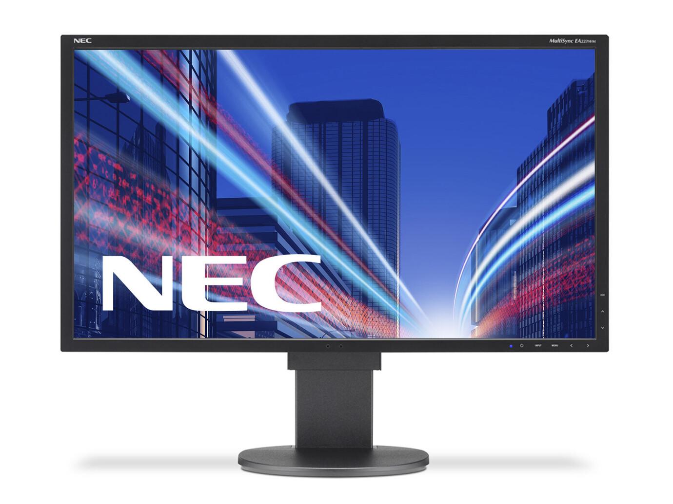 "NEC MultiSync EA223WM, schwarz 22"" LCD Monitor mit WSXGA+ und 5ms"