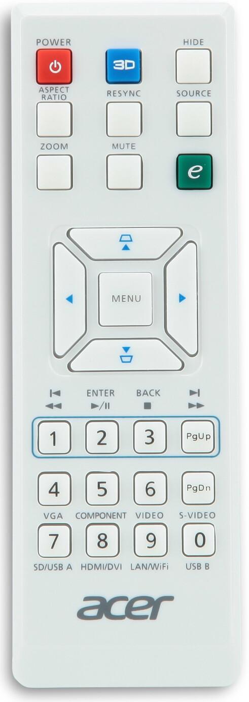 Acer Ersatzfernbedienung für H6510BD
