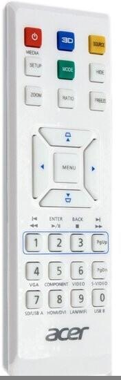 Acer Ersatzfernbedienung für H5380BD, H6520BD, P1173, X1173A, X1373WH, S1283E, S1283Hne