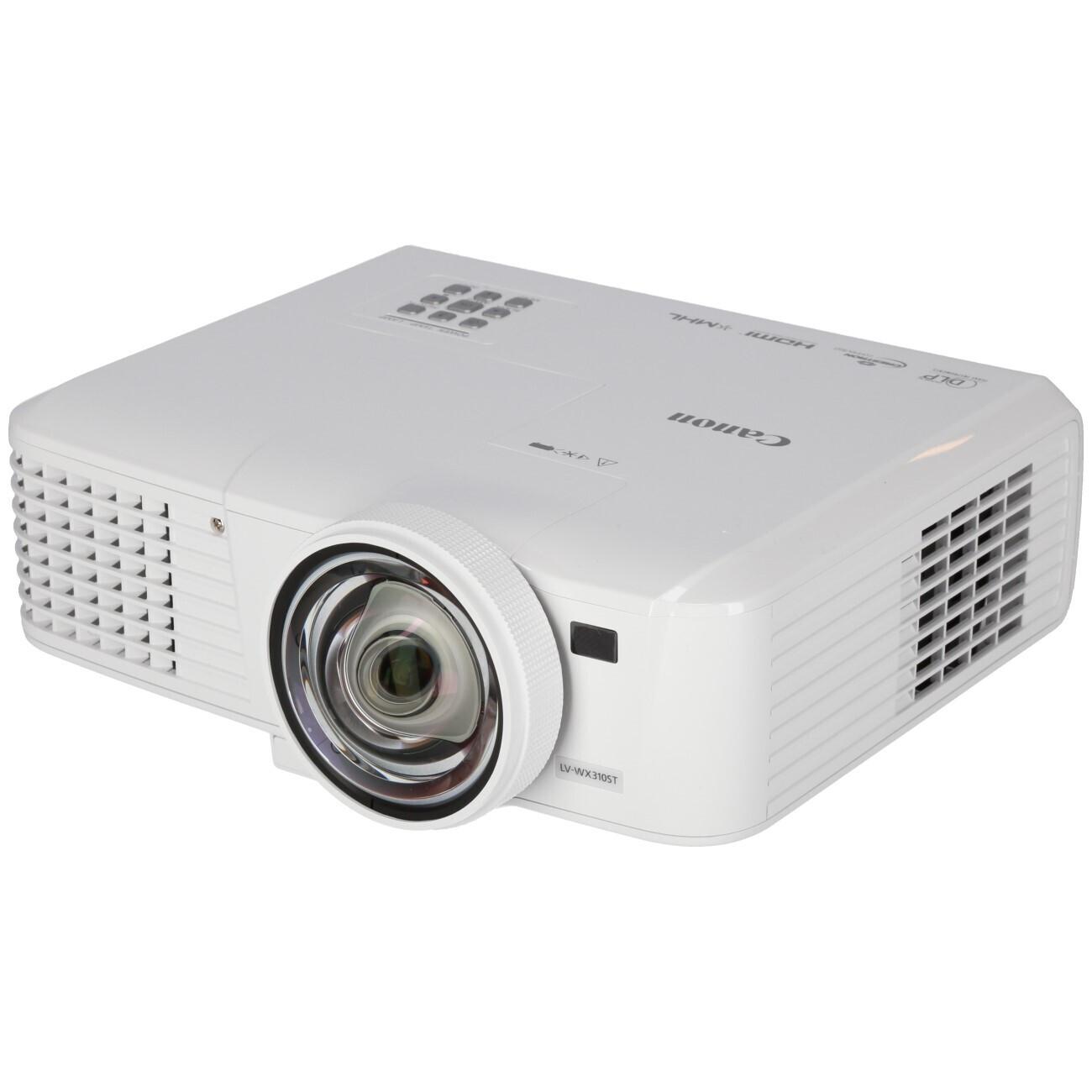 Canon LV-WX310ST Kurzdistanzbeamer mit 3100 ANSI-Lumen und WXGA