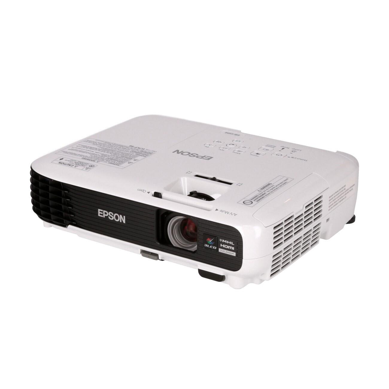 Epson EB-U04 Heimkino Beamer mit 3000 ANSI-Lumen und WUXGA Auflösung