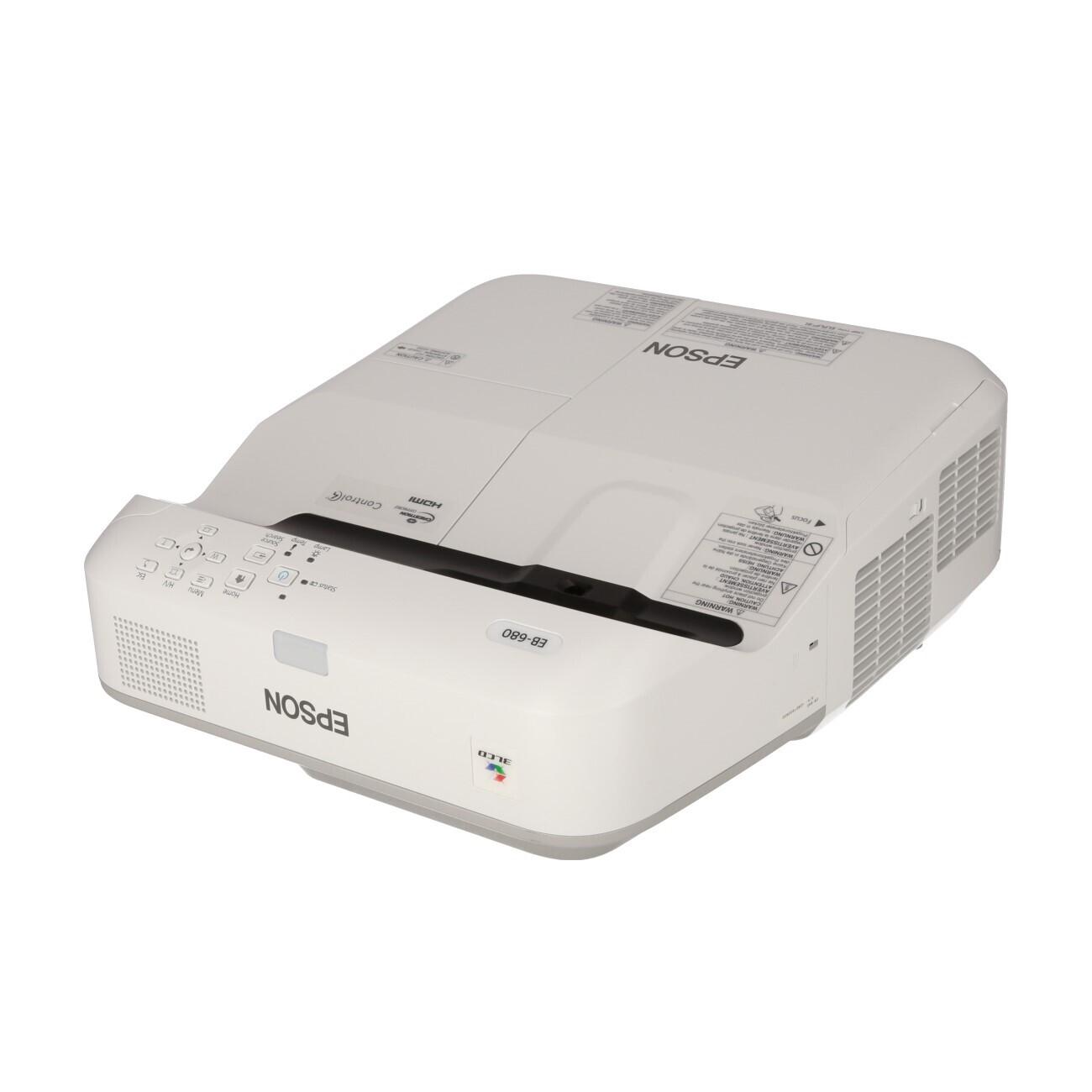 Epson EB-680 Kurzdistanzbeamer mit 3500 ANSI-Lumen und XGA Auflösung