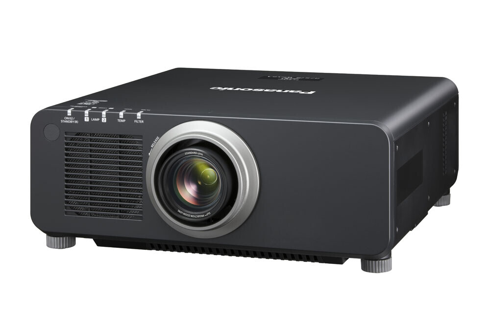 Panasonic PT-DZ870EK (inkl. Objektiv) Beamer, 8500 ANSI-Lumen, WUXGA