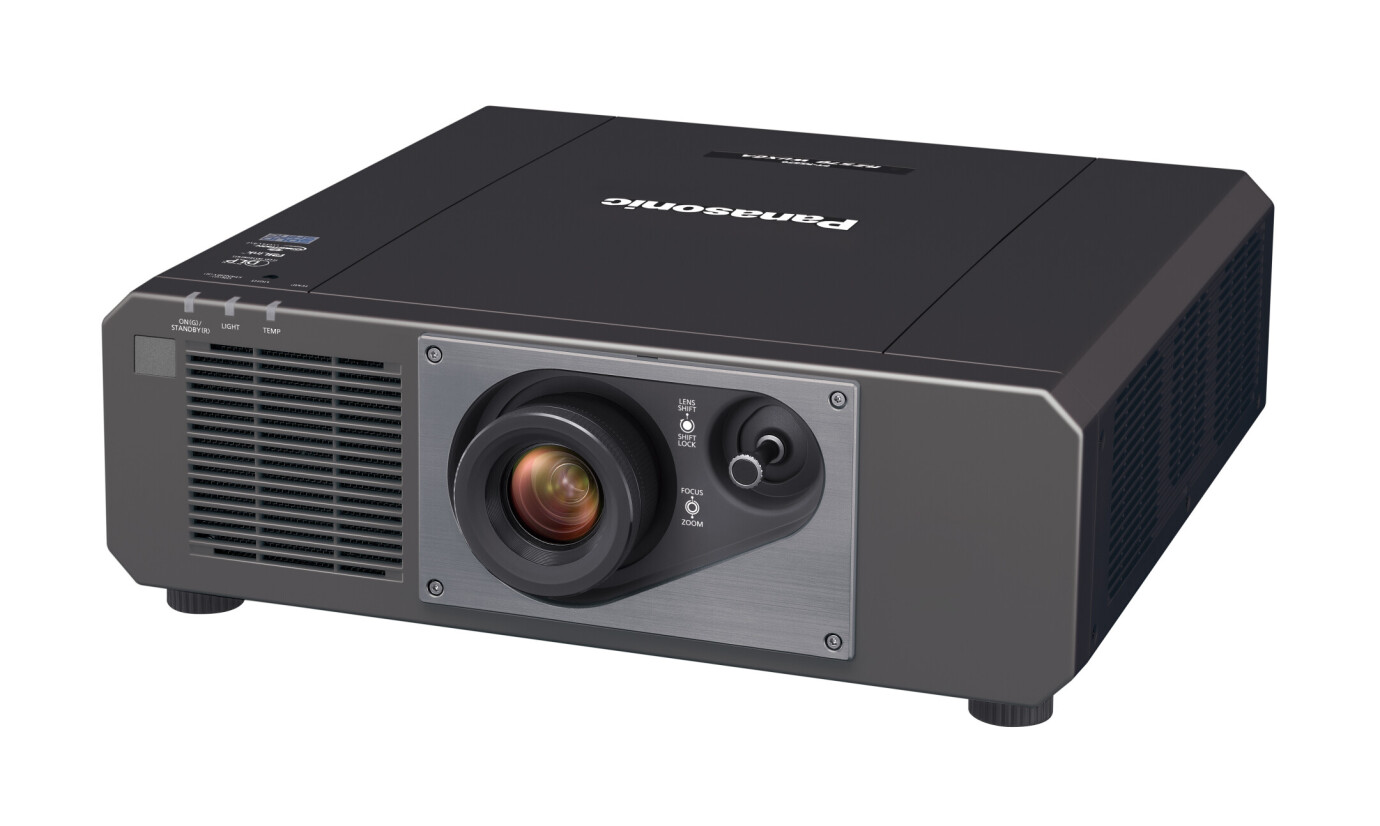 Panasonic PT-RZ570BE Installationsbeamer mit 5400 ANSI-Lumen und WUXGA