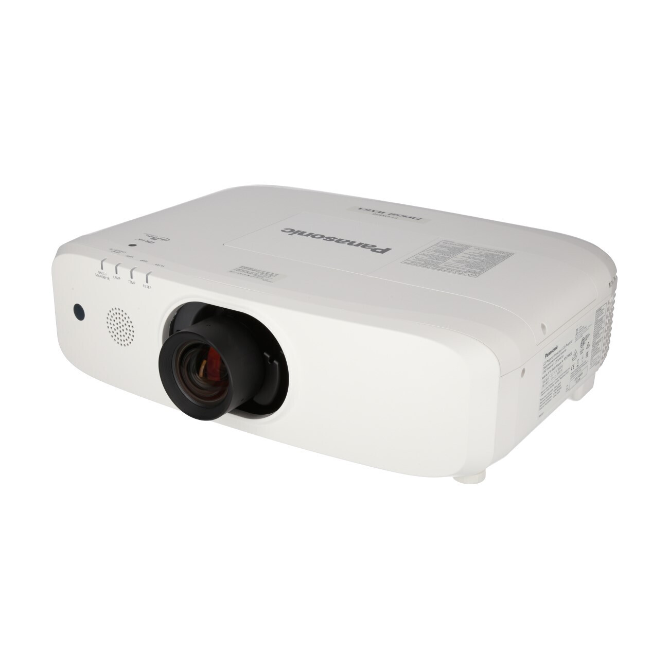 Panasonic PT-EW650E (+ Objektiv) Mobiler Beamer, 5800 ANSI-Lumen, WXGA
