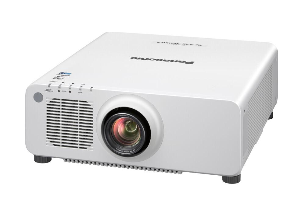Panasonic PT-RZ770WE (weiß, +Objektiv) Beamer, 7200 ANSI-Lumen, WUXGA