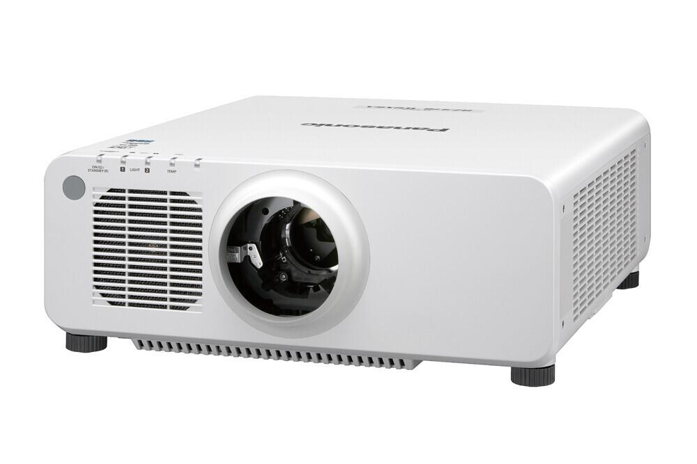 Panasonic PT-RZ660LWE (weiß, ohne Objektiv) Beamer, 6200 ANSI-Lumen