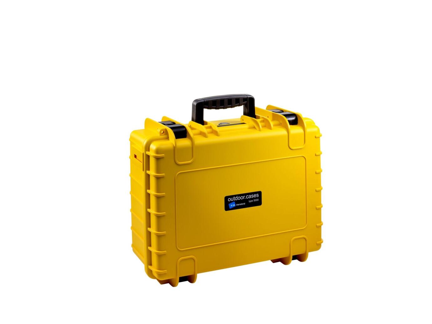 B&W Hartschalenkoffer Typ 5000 gelb