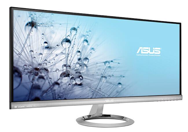 """ASUS MX299Q Designo 29"""" LCD Monitor mit UW-UXGA und 5ms"""