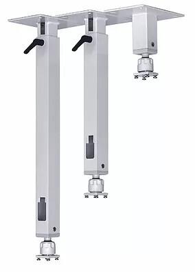 PeTa Deckenhalterung Standard mit Klemmhebel, feste Länge 20cm