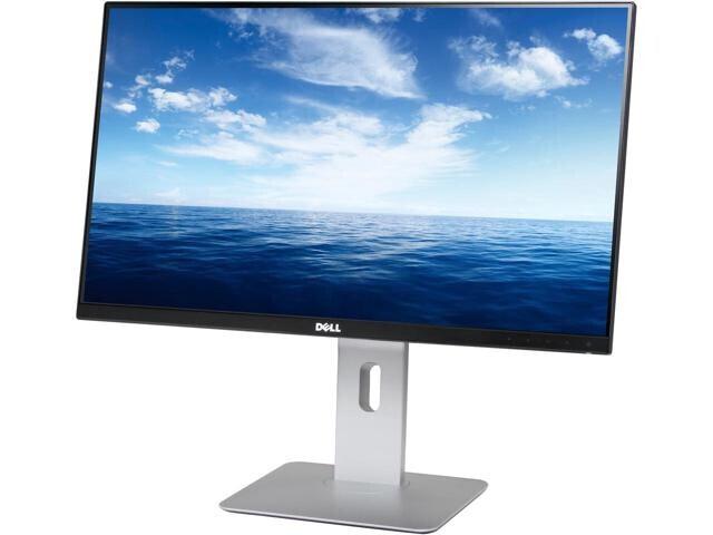 """Dell U2414H 24"""" Monitor mit Full-HD und 8ms Reaktionszeit"""