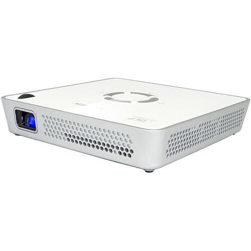 Aiptek MobileCinema i120 Mini Beamer mit 120 ANSI-Lumen und WVGA