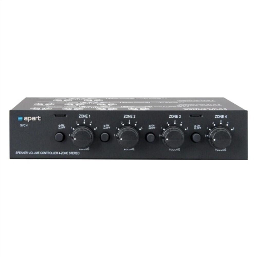 Apart SVC4 - Stereo-Lautstärkeregler für 4 Zonen