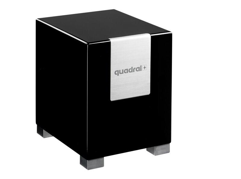 quadral QUBE 8 Subwoofer schwarz