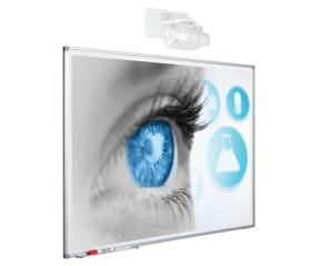 Smit Beschreibbare Projektionstafel, Softline Profil 120 x 230 cm