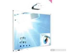 Smit Visual beschreibbare Projektionstafel (SL Profil) - 120x192cm