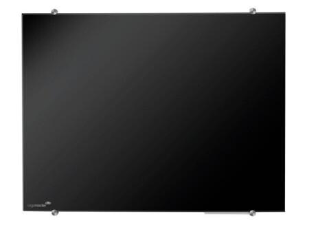 Legamaster Glasboard Colour 90x120 cm schwarz
