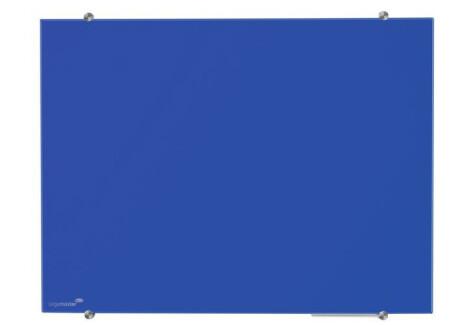 Legamaster Glasboard Colour 90x120 cm blau