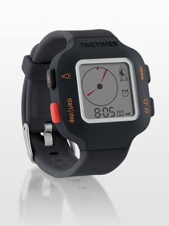 Time Timer Armbanduhr Plus, Junior, anthrazit/orange