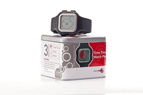 Time Timer Armbanduhr Plus®, Senior, anthrazit/white