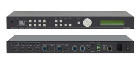 Kramer VS-44DT 4x4 4K 60 4:2:0 HDMI/HDBaseT Matrixschalter mit PoE für vergr. Reichweite