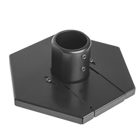Chief CPA351 flache Klemmplatte für Boden-Decken-Displayhalterung